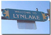 Lyn Lake Sign